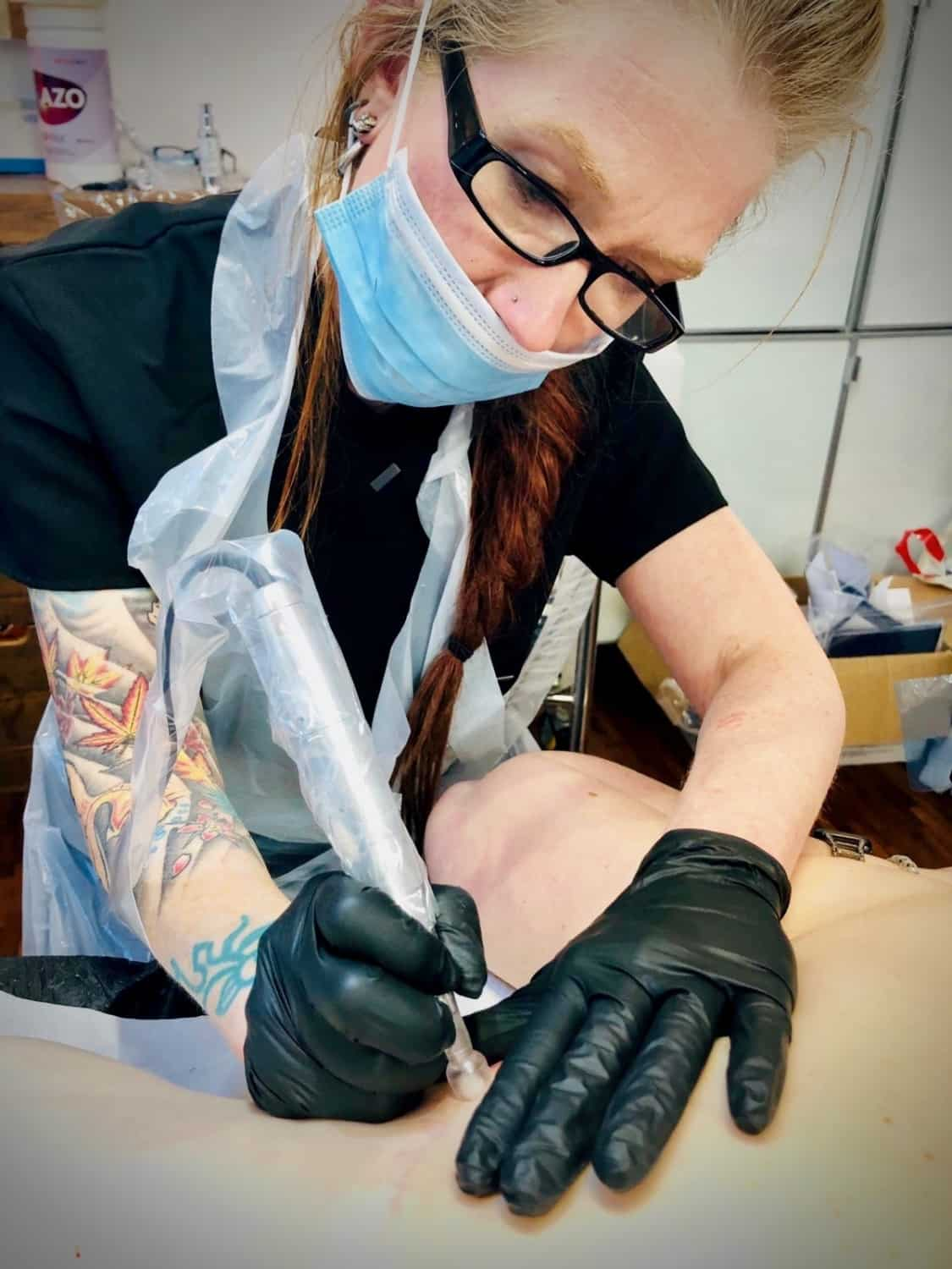 Helen Aldous Medical Tattooist