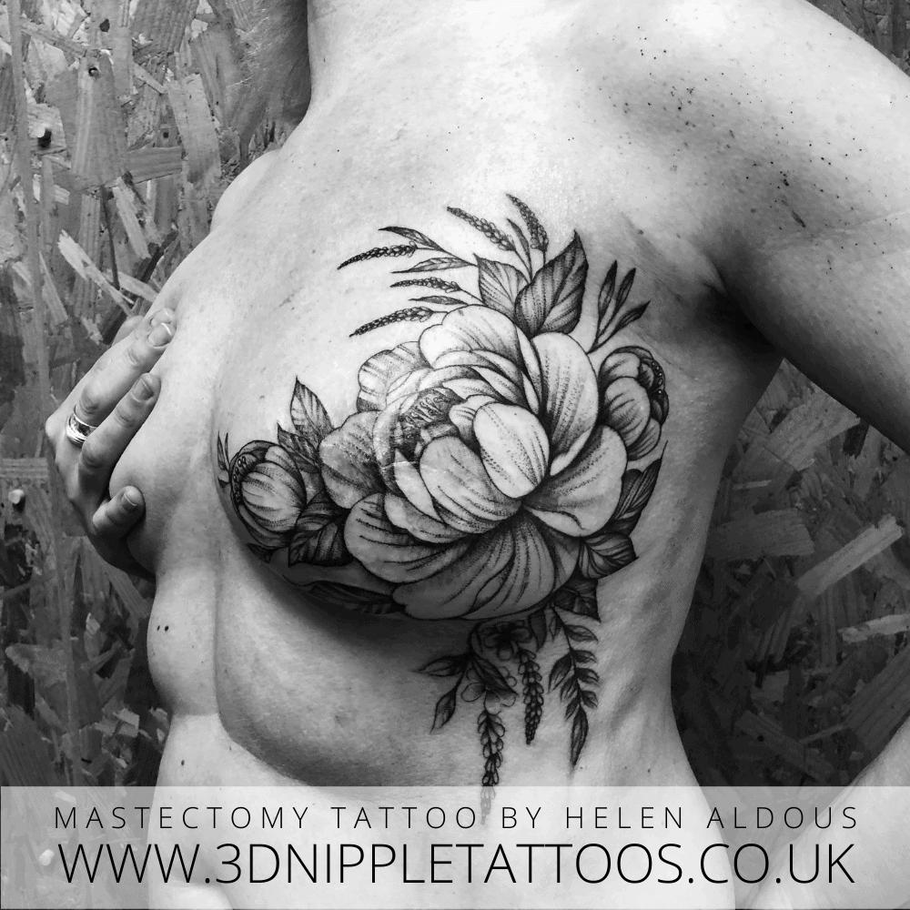 Mastectomy Tattoo By Helen Aldous